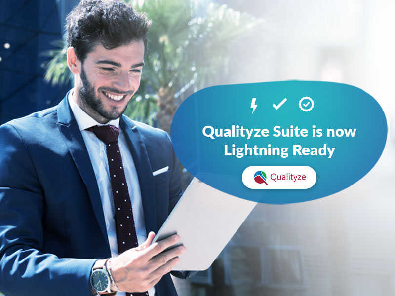 Qualityze Suite is now Lightning Ready