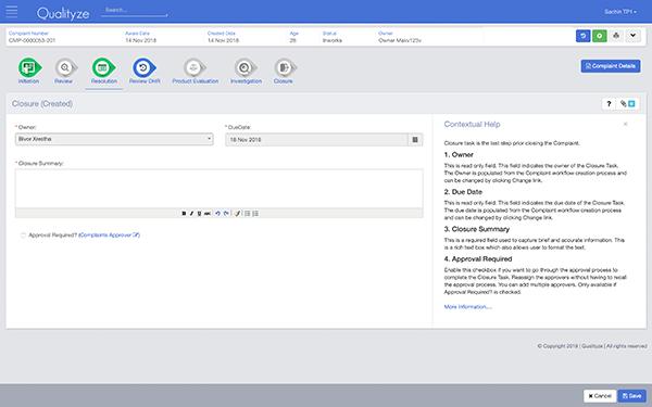 Customer Complaint QMS Software