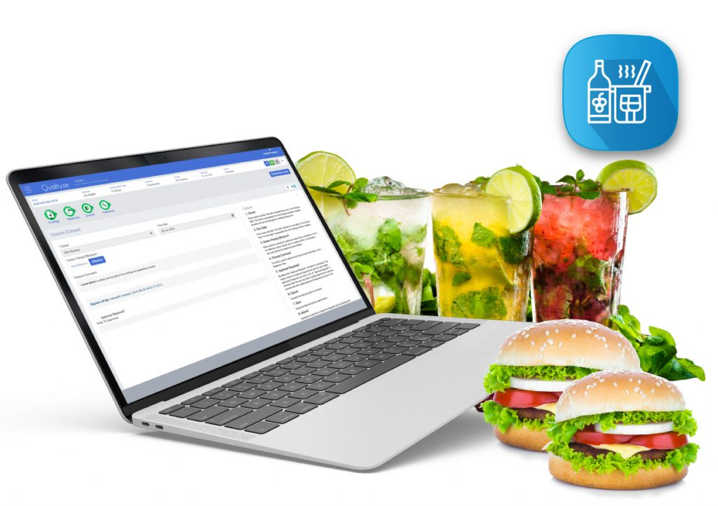 EQMS software for Food and Beverages Industry
