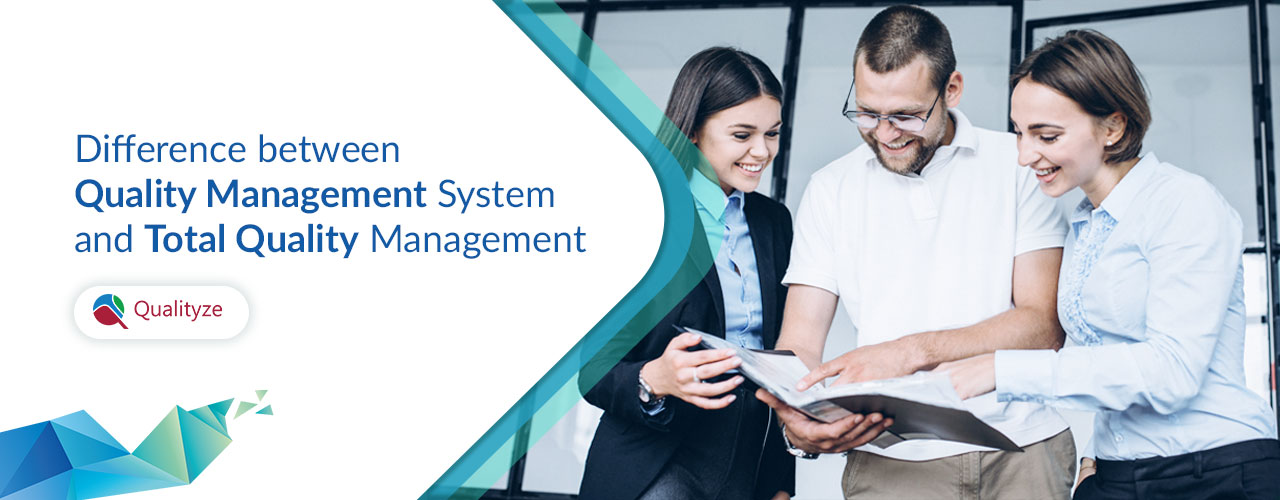 difference between quality management system and total quality management