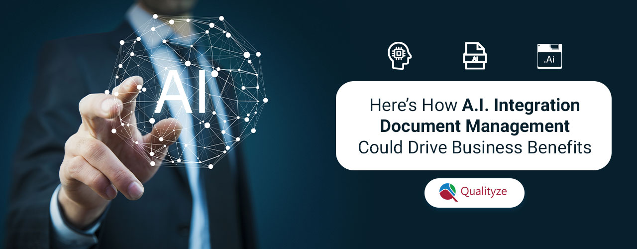 business benefits by integrating AI with document management